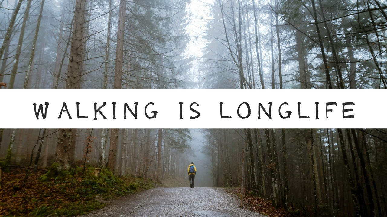 walking is longlife